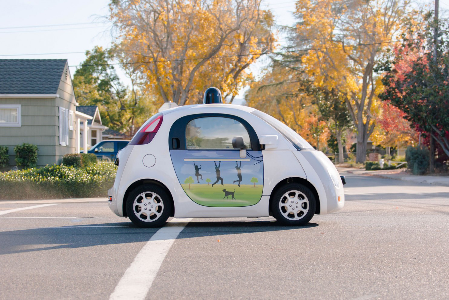 Toot toot: The politely honking driverless car is here - Chicago Tribune