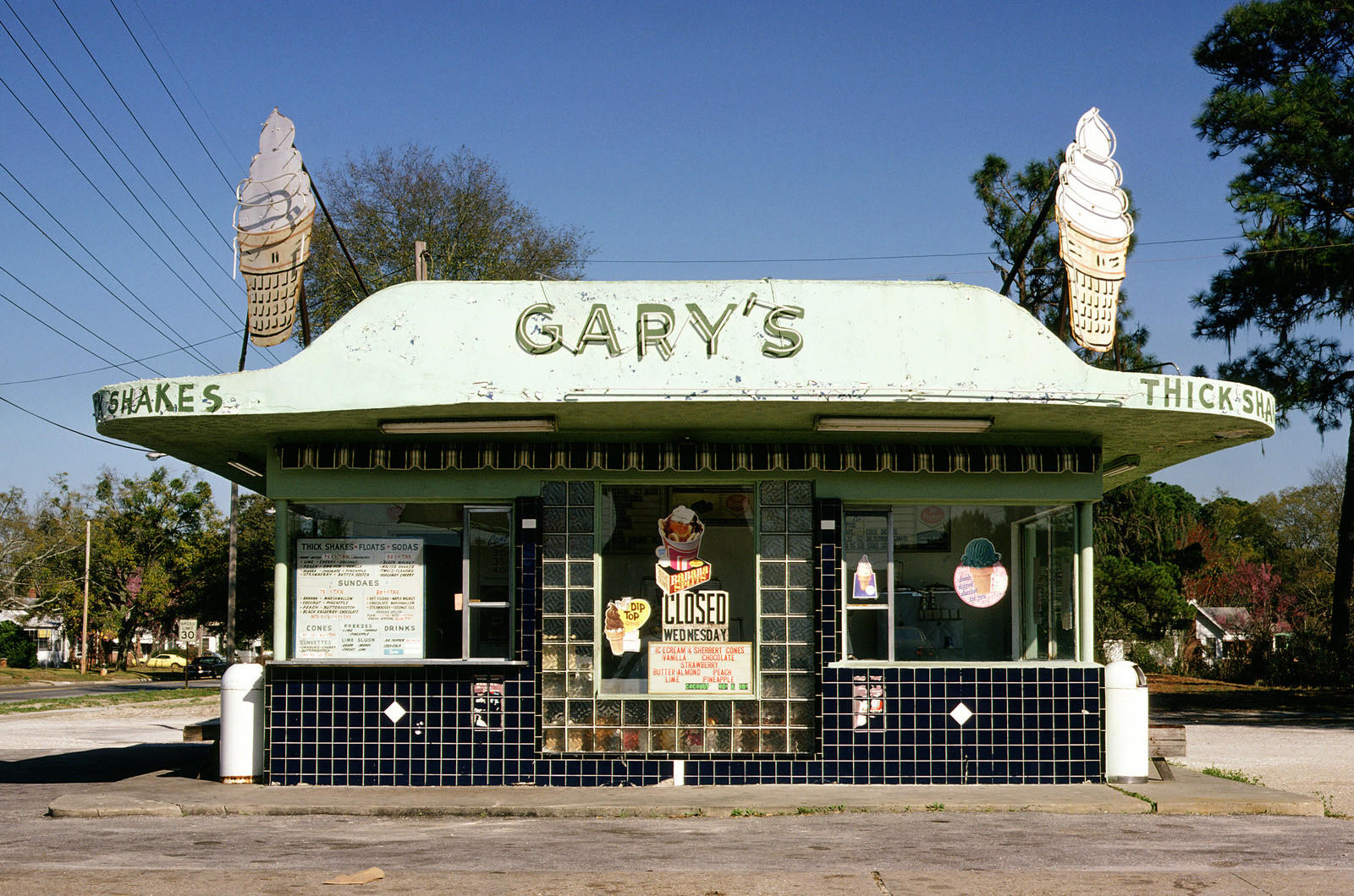 Gary's Thick Shakes, Jacksonville, Fla.