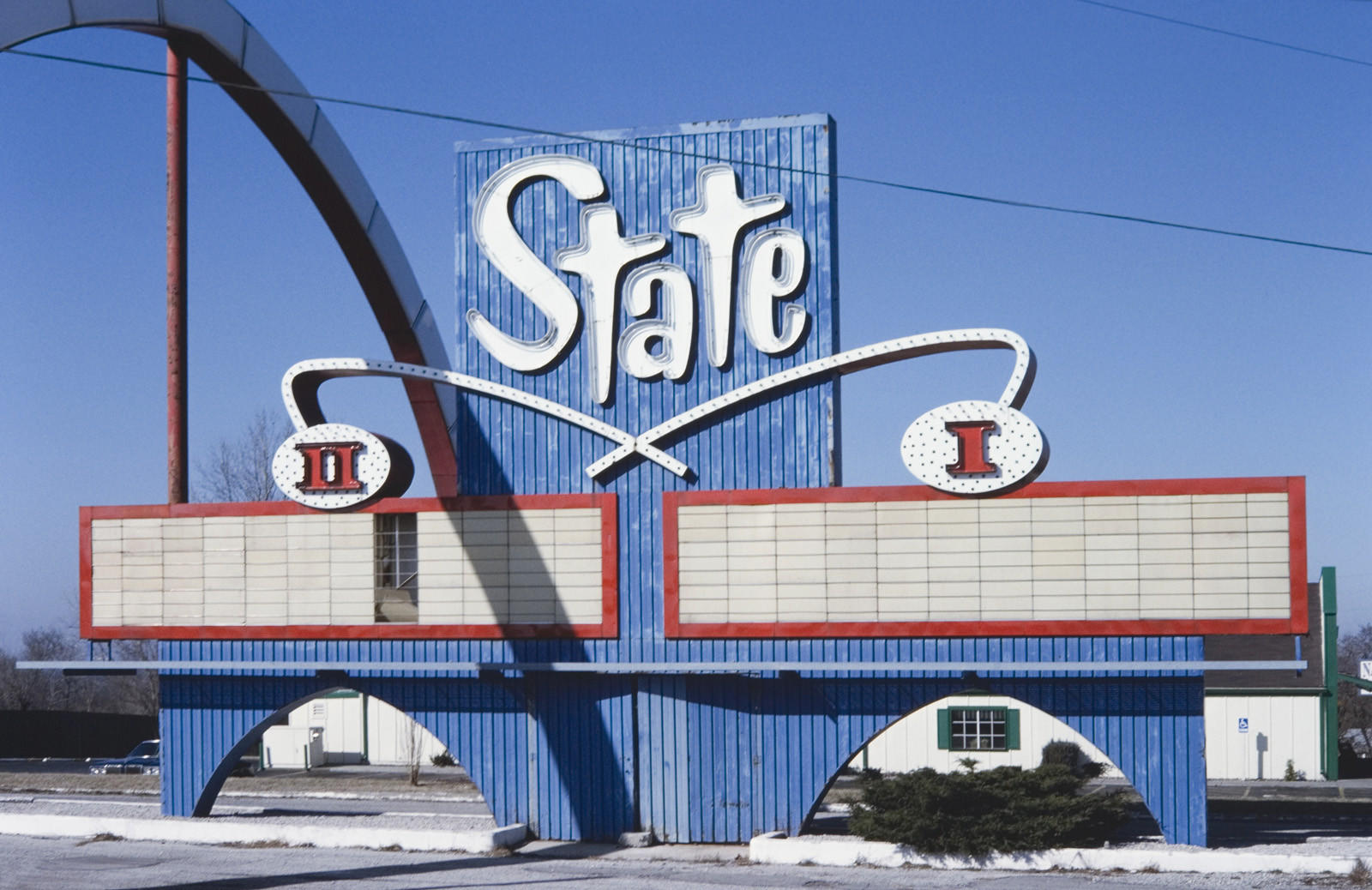 State D-1 Theater sign, Kansas City, Kan.