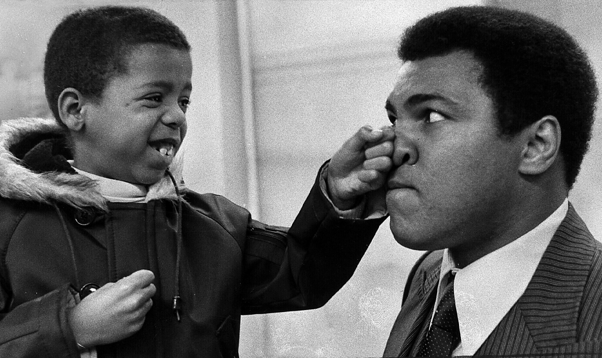 Ali biographer says of late champ: 'Unbelievable force of love'