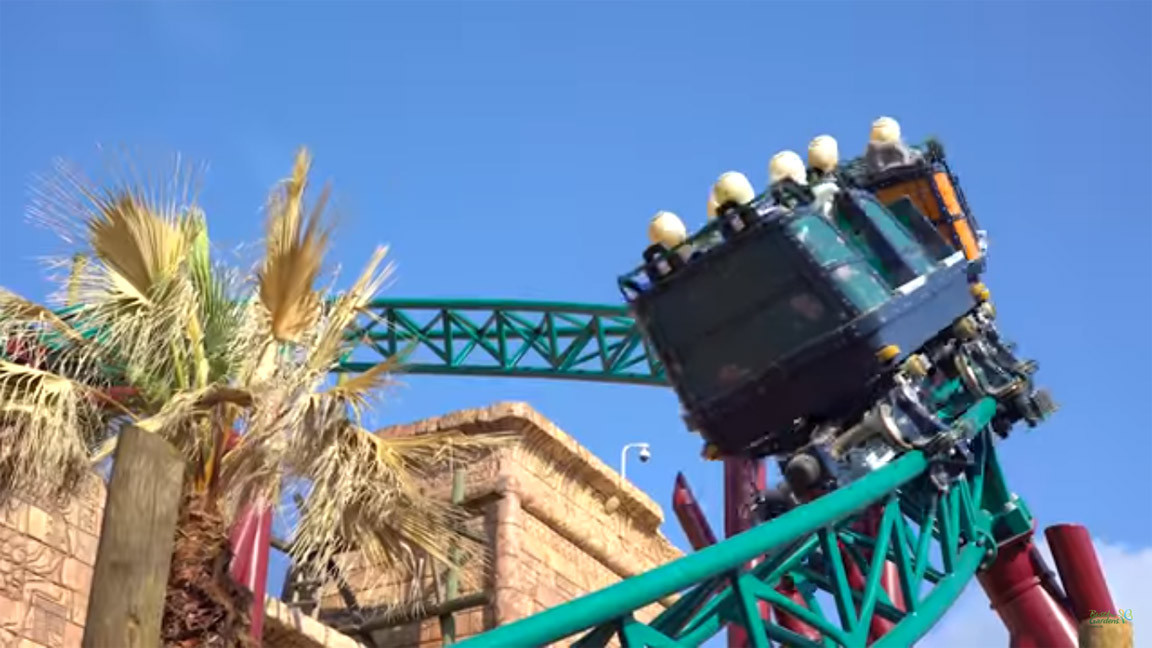 Busch gardens cobra 39 s curse final testing phase daily press - Busch gardens tampa bay cobra s curse ...