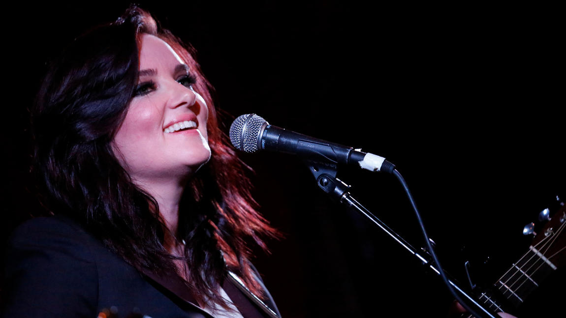 Brandy Clark is nominated for two Grammys, for best country album and best country song. (Genaro Molina / Los Angeles Times)