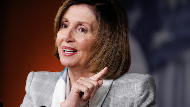 House Minority Leader Nancy Pelosi. (J. Scott Applewhite / Associated Press)