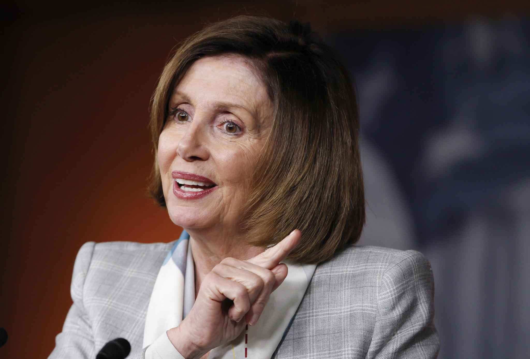 House Minority Leader Nancy Pelosi said she plans to vote for Proposition 64. (J. Scott Applewhite / Associated Press)