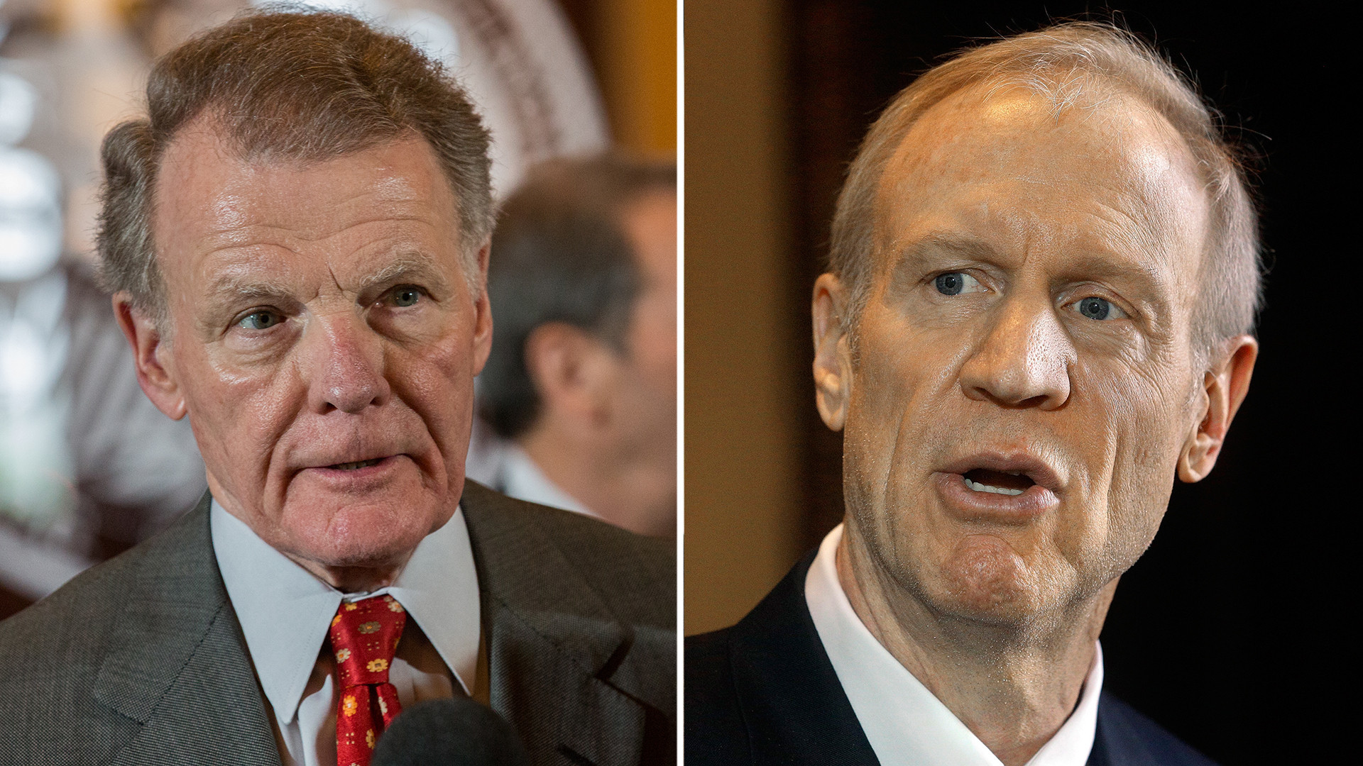 Rauner leaves Madigan criticism to Illinois GOP, at least for a day