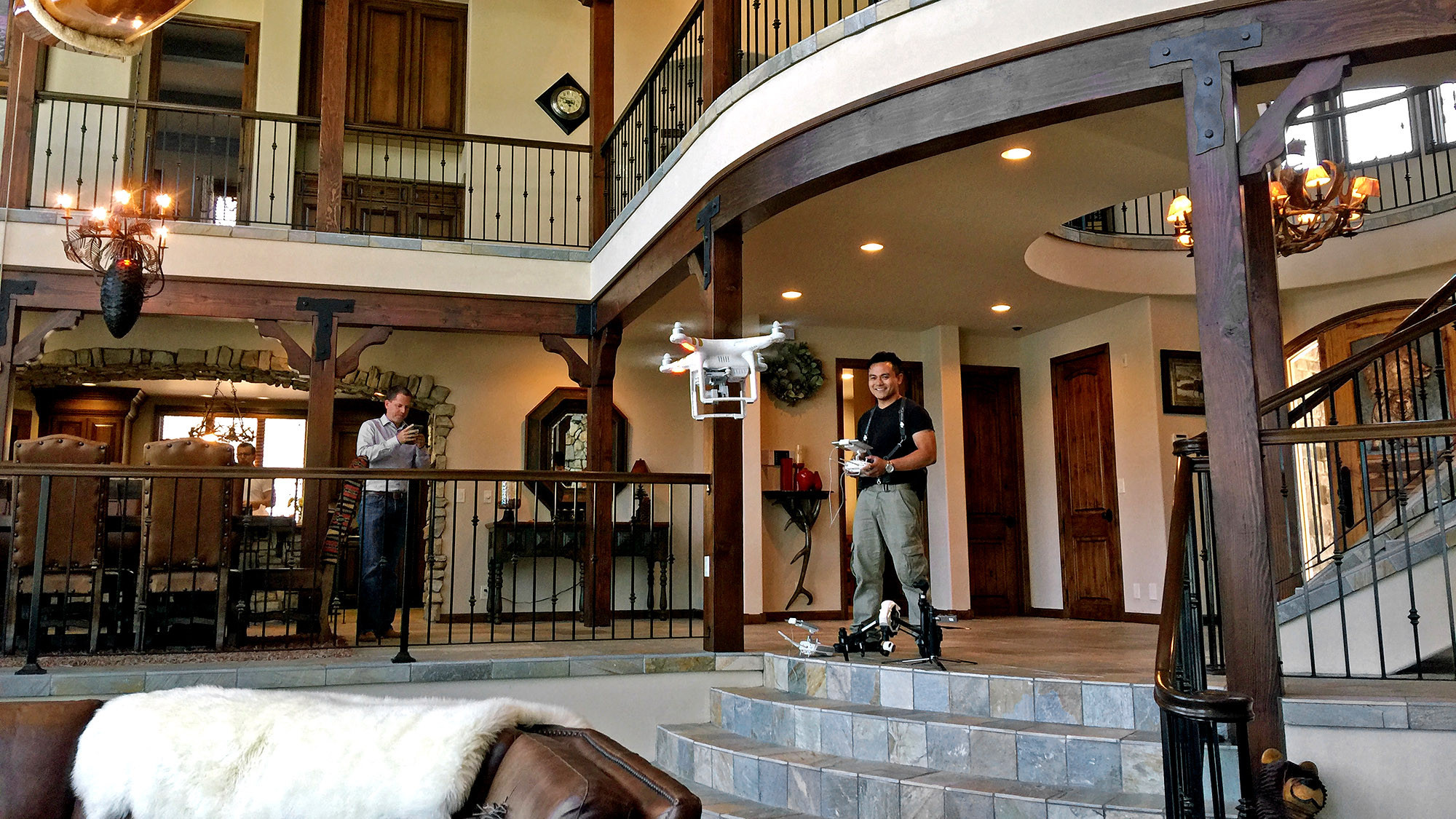 Drones take on the great indoors
