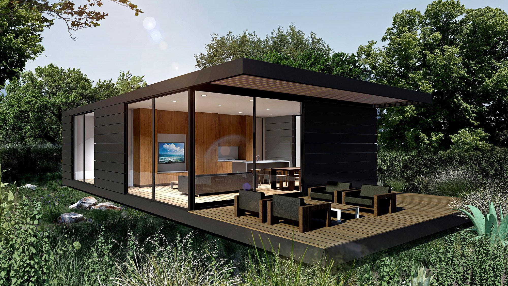 Premanufactured Homes prefab homes for sophisticated tastes - la times