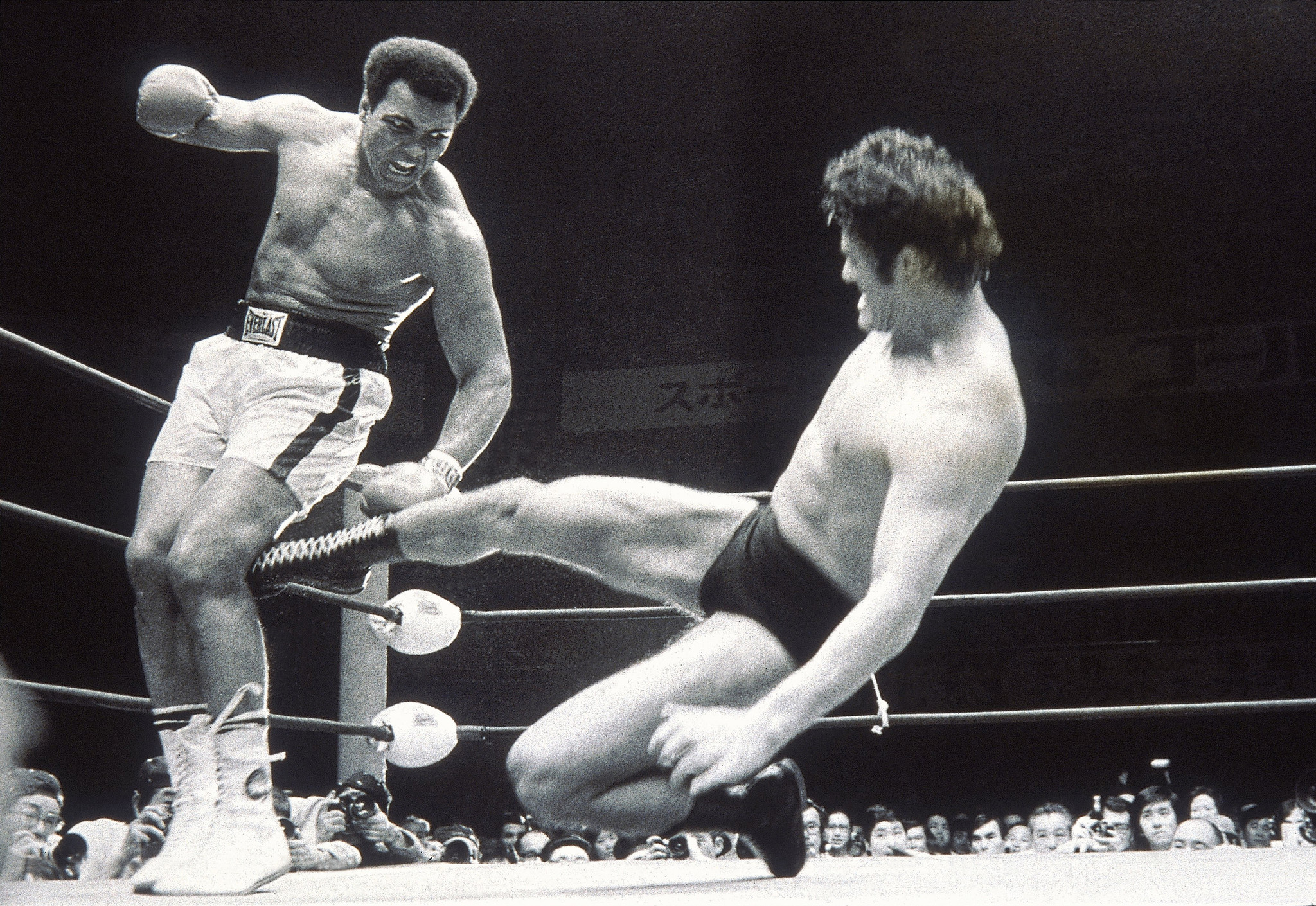 The Japanese pro wrestler who almost got Muhammad Ali's leg amputated