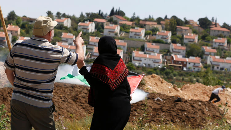 Nabi Saleh in the West Bank