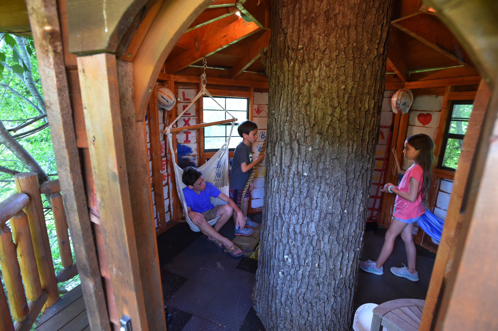 Treehouses Fulfill Childhood Dreams