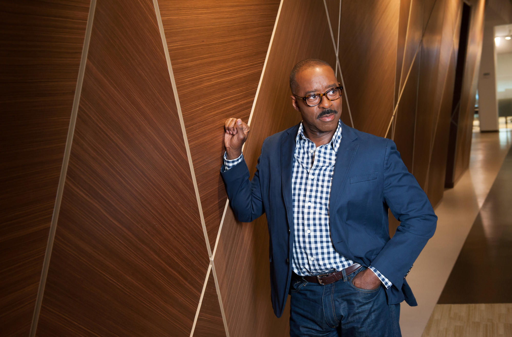 """Courtney B. Vance, who played Johnnie Cochran, says the trial was """"the first time since the Kennedy assassination or the moon walk that we were all watching collectively as a nation."""""""