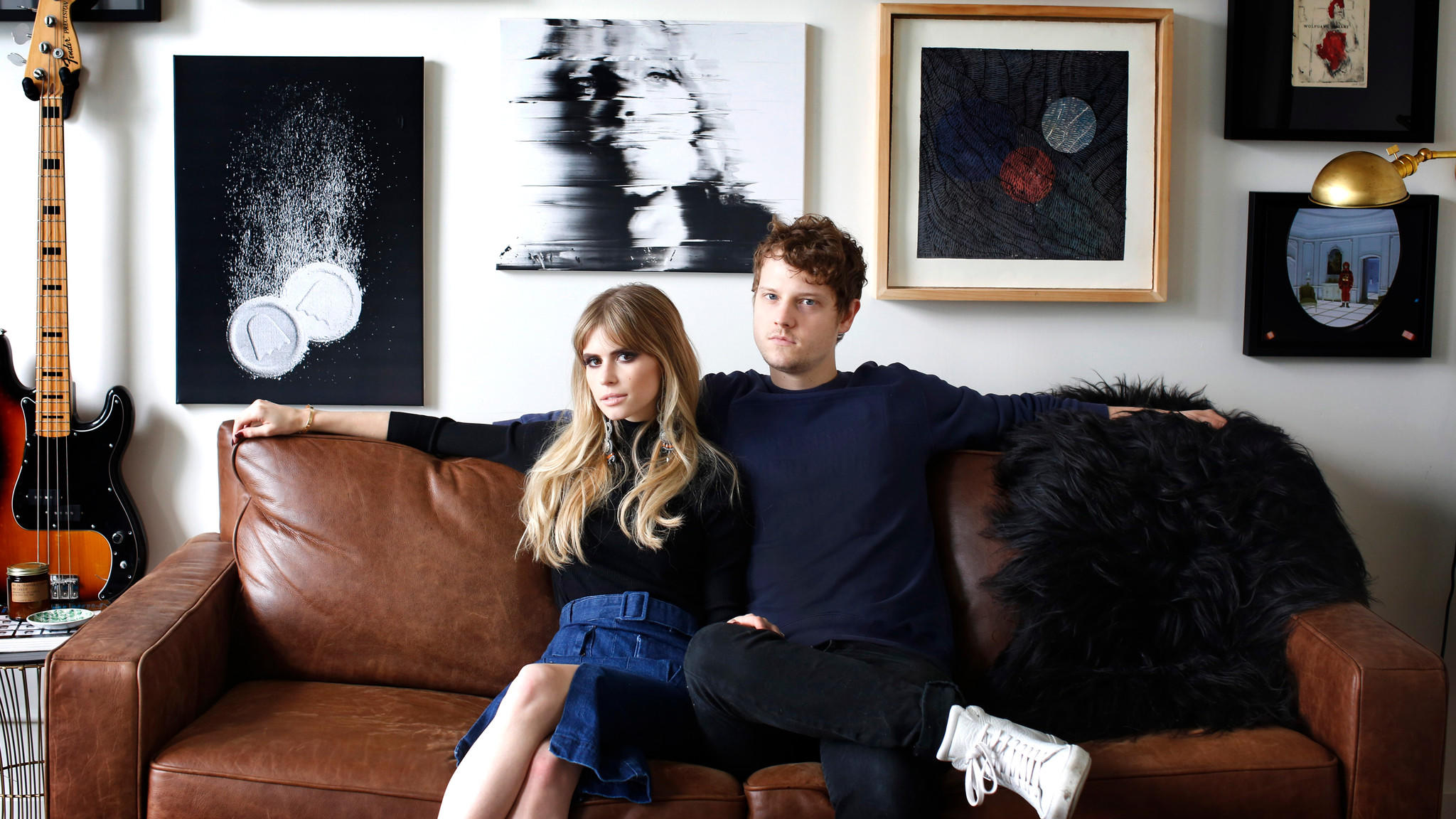"MTV's ""Scream"" star Carlson Young, 25, shares her DTLA loft with her fianc, Isom Innis of the indie pop band Foster the People."