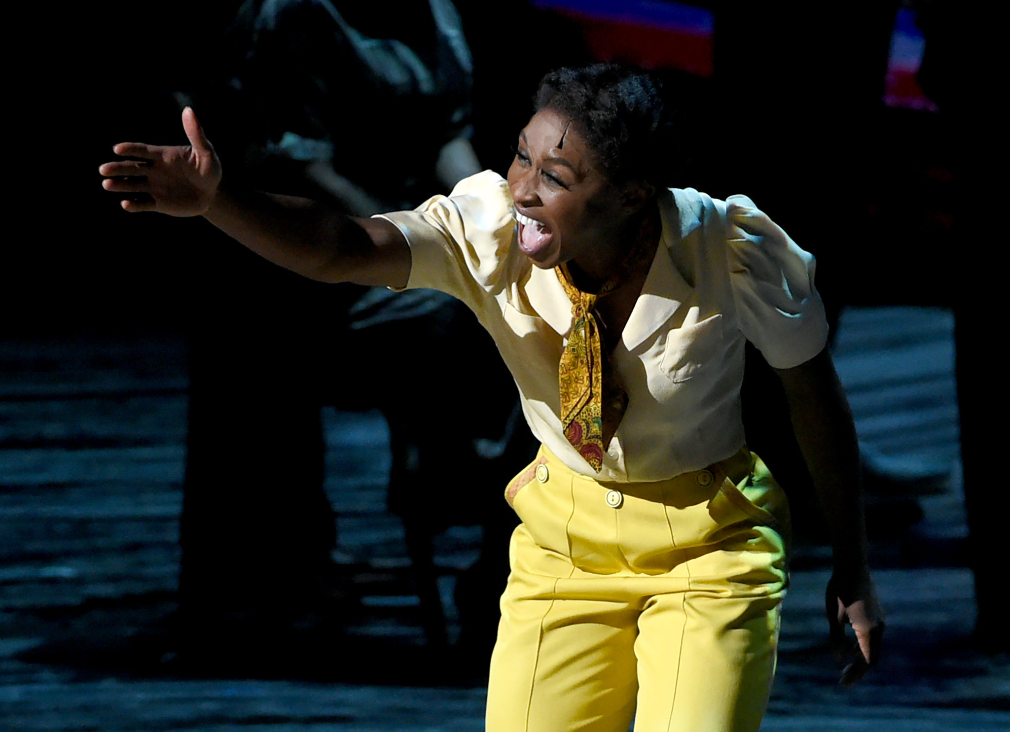 "Cynthia Erivo in ""The Color Purple."" (Evan Agostini / Invision/AP)"