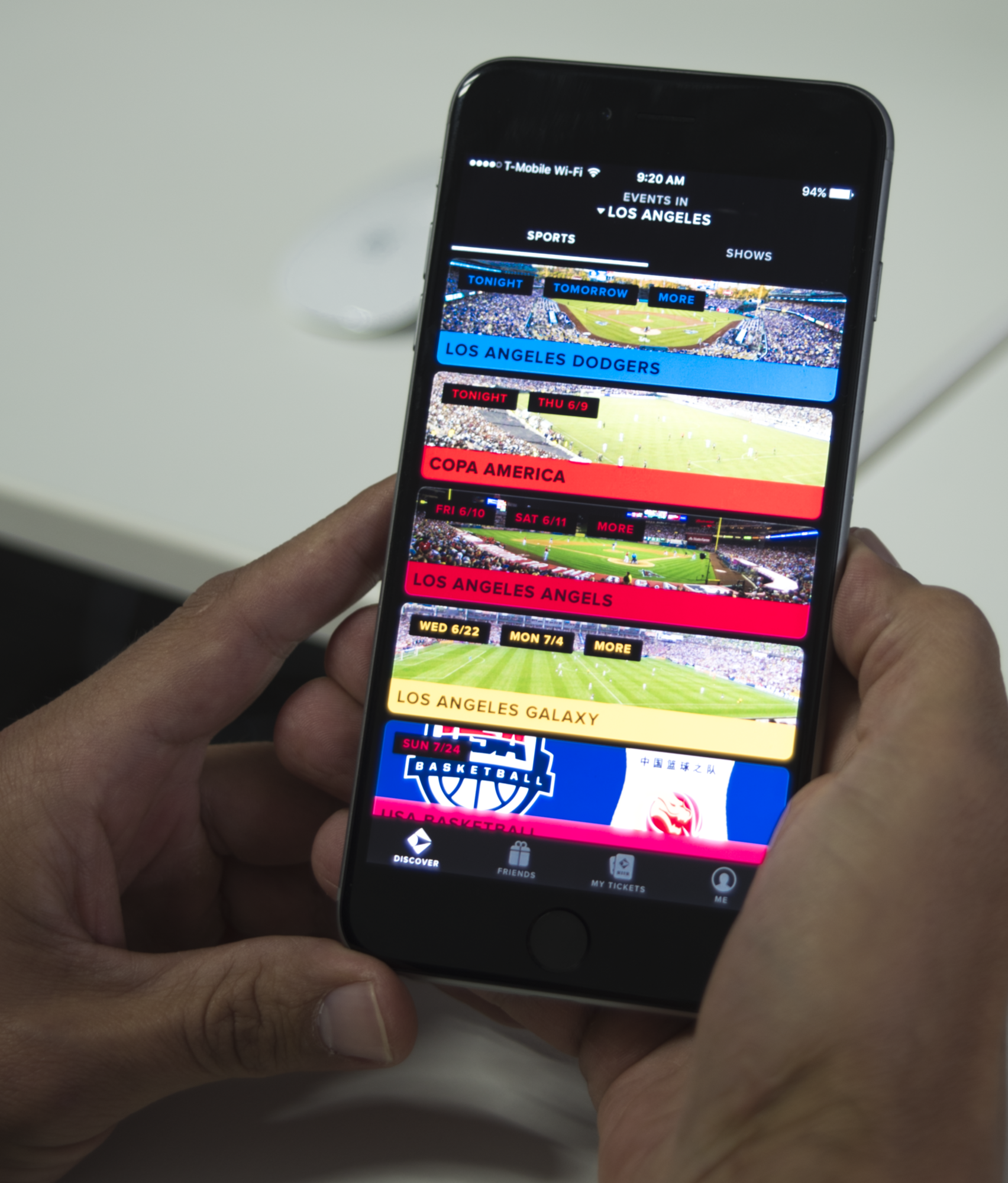 Gametime provides paperless ticketing for sports games and concerts.
