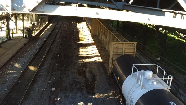 LATEST DERAILMENT: Baltimore MD hazardous materials train ...