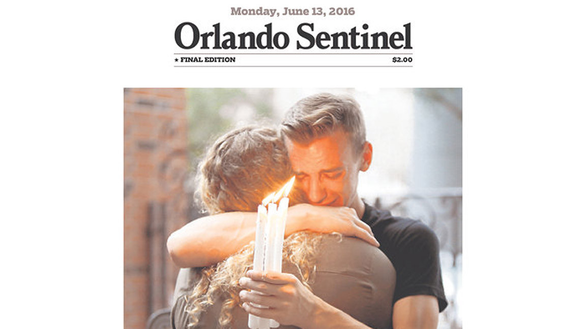 How many newspapers are sold in Orlando, FL?