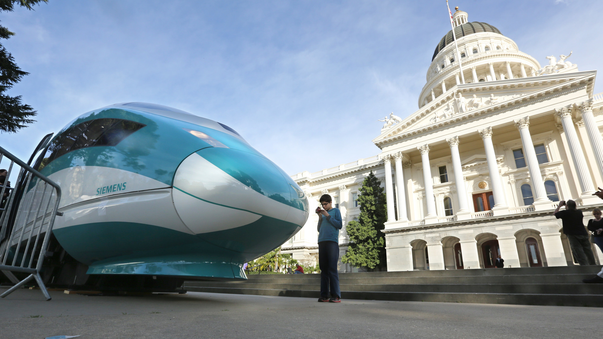 The high-speed rail project connecting San Francisco and Los Angeles is the biggest recipient of the cap-and-trade funds.