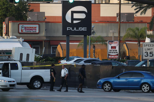 The Pulse nightclub in Orlando, Fla. (Joe Raedle/Getty Images)