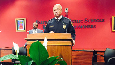 Chief of Baltimore school police resigns