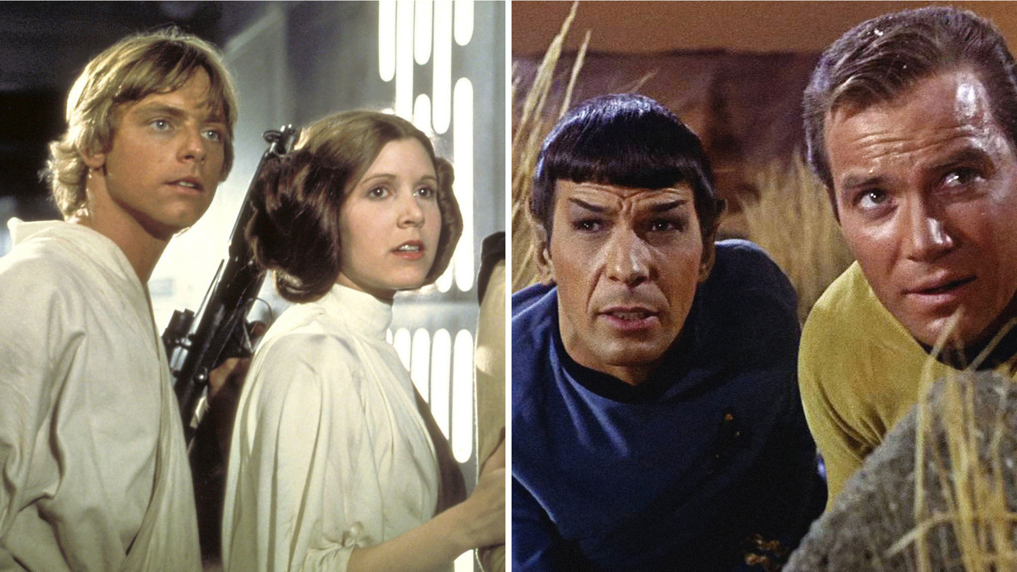 Opinionated Essay help. (Involves Star Trek and Star Wars)?