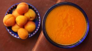 Apricot purée