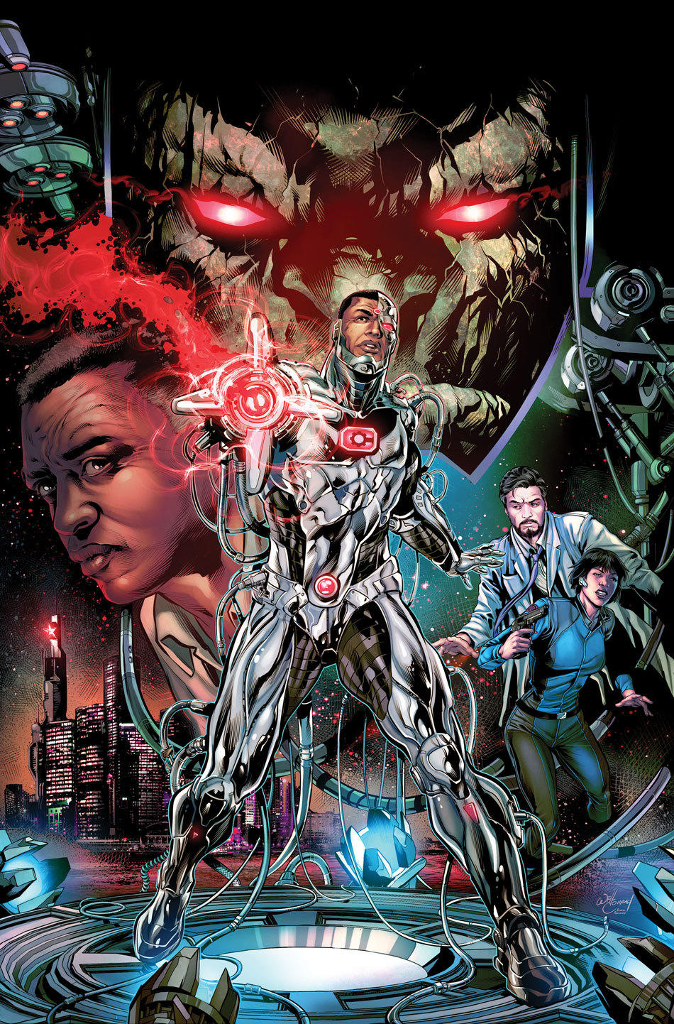Image result for cyborg rebirth