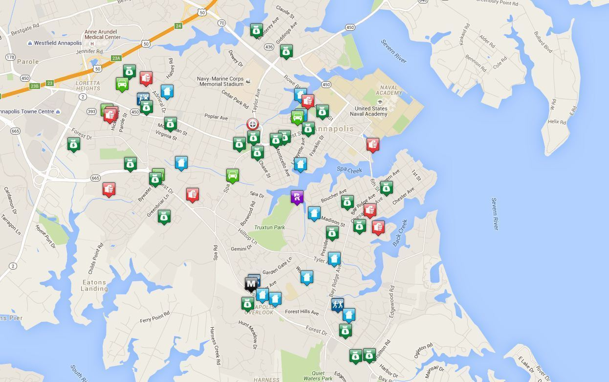 . annapolis police unveil new online crime map  capital gazette
