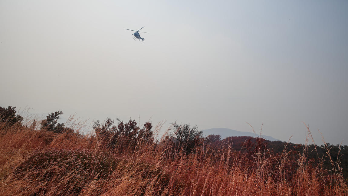 Fire burning in Santa Barbara County more than doubles to 4,000 acres overnight