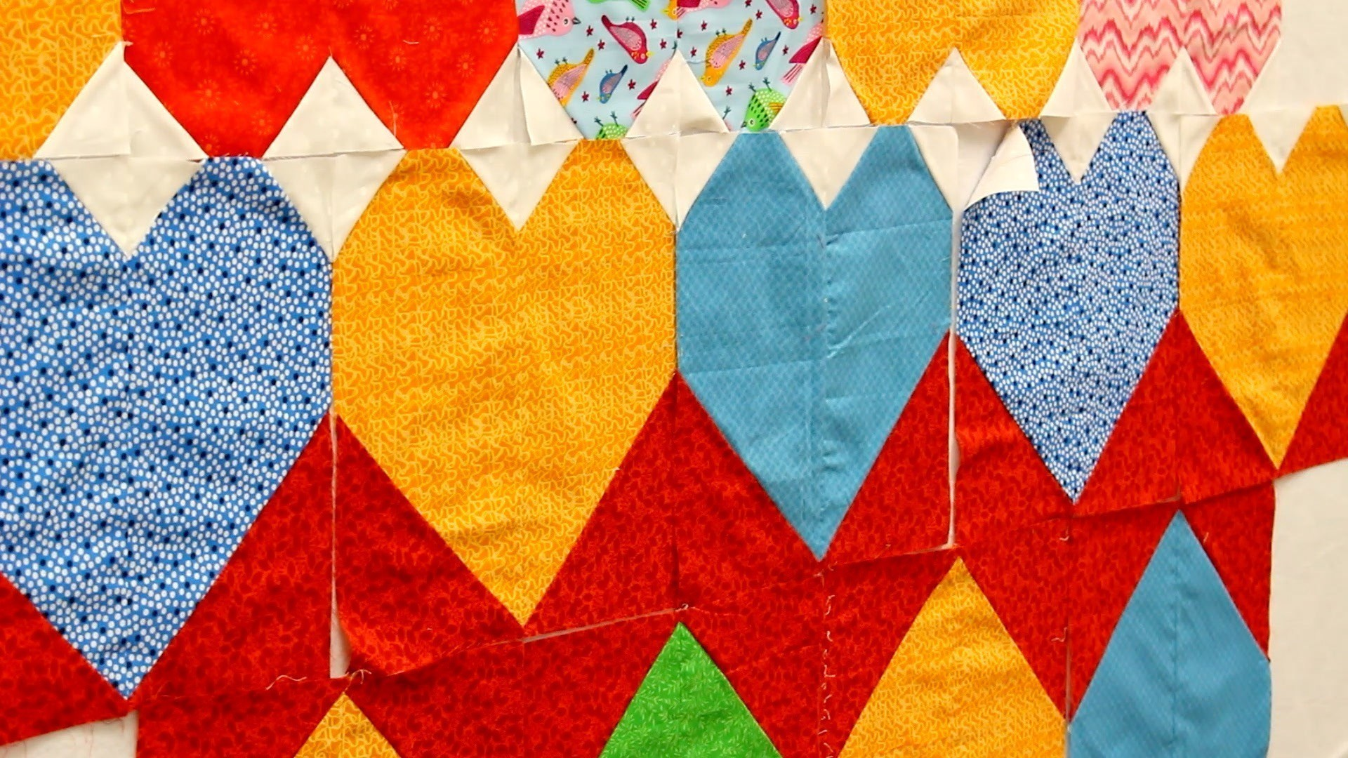 Orlando Quilt Guild Is Making Rainbow Heart Quilts For