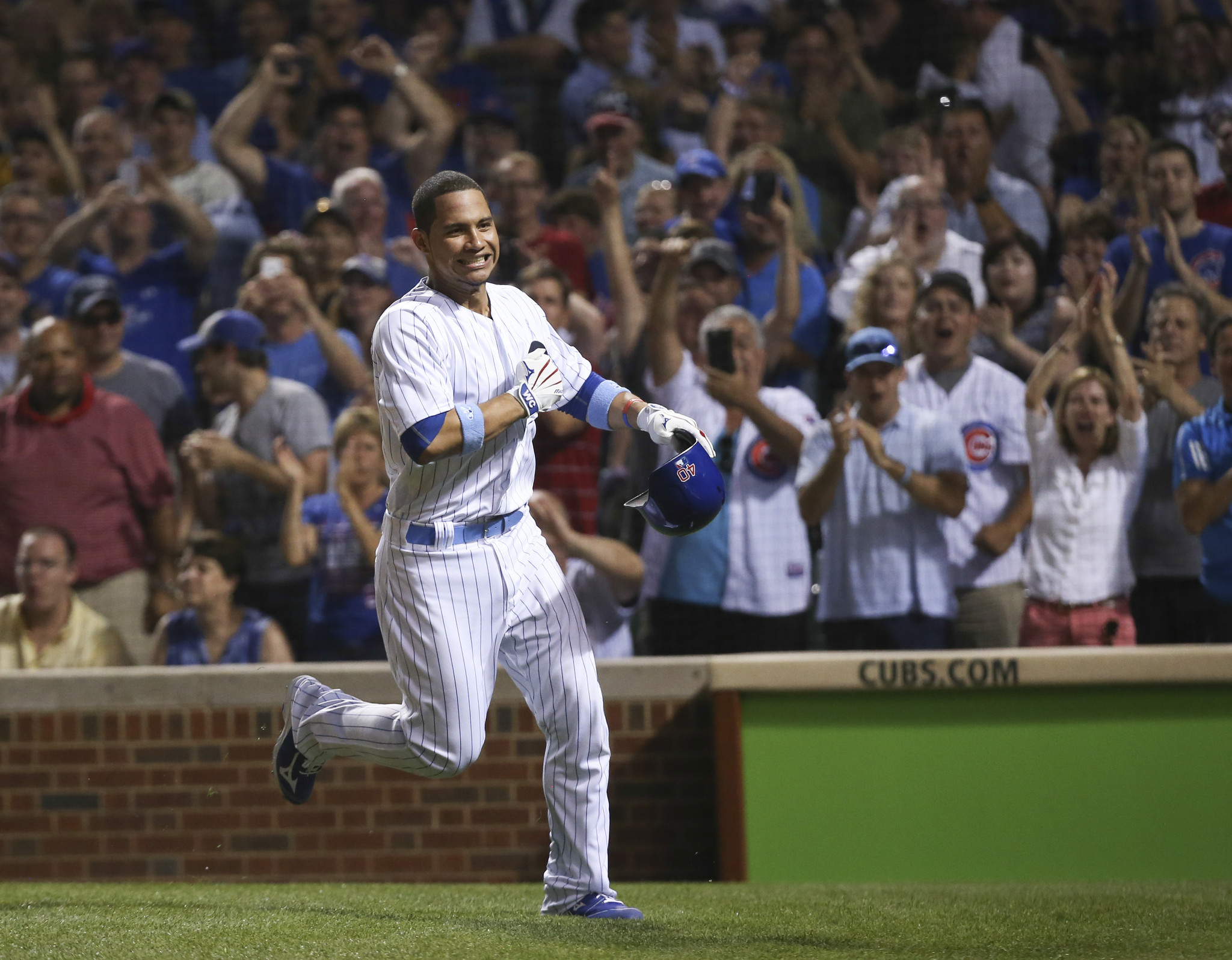Cubs' Willson Contreras on home run: 'I feel like I'm in the high sky' - Chicago Tribune