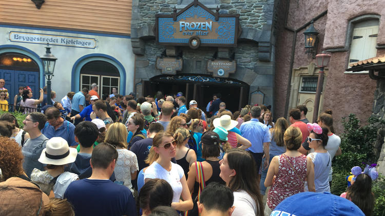 Pictures: Frozen Ever After at Epcot