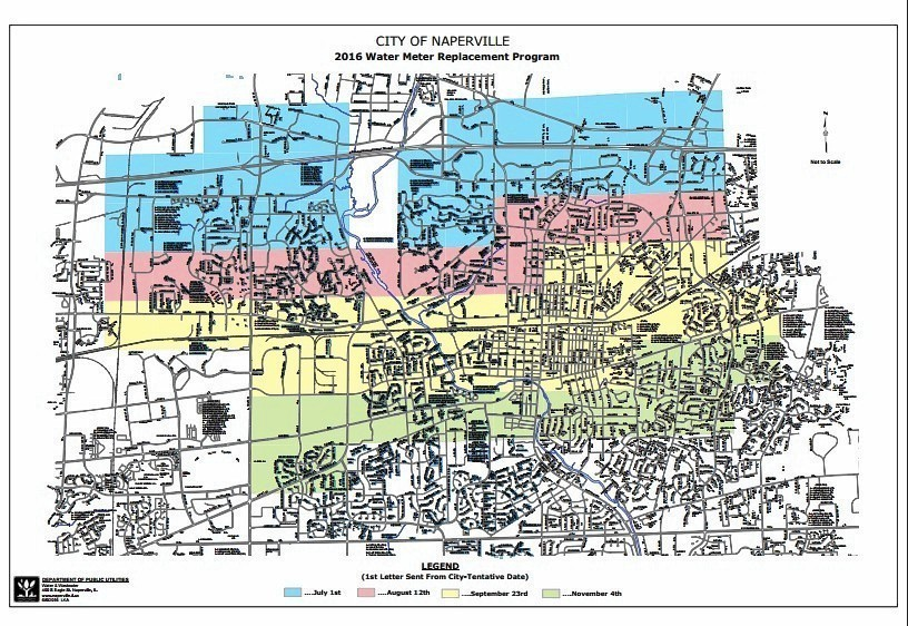 Naperville to start replacing water meters Naperville Sun