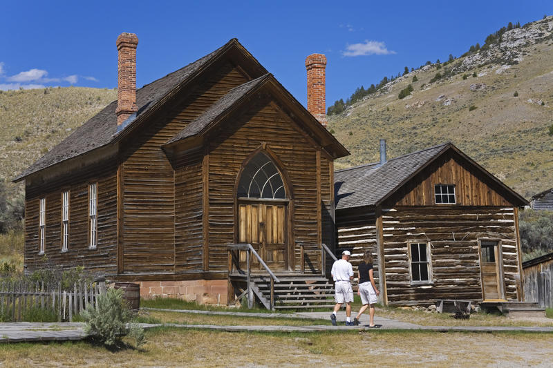 Bannack State Park Ghost Town, Dillon, Montana. (Richard Cummins / Getty Images/Lonely Planet Image)