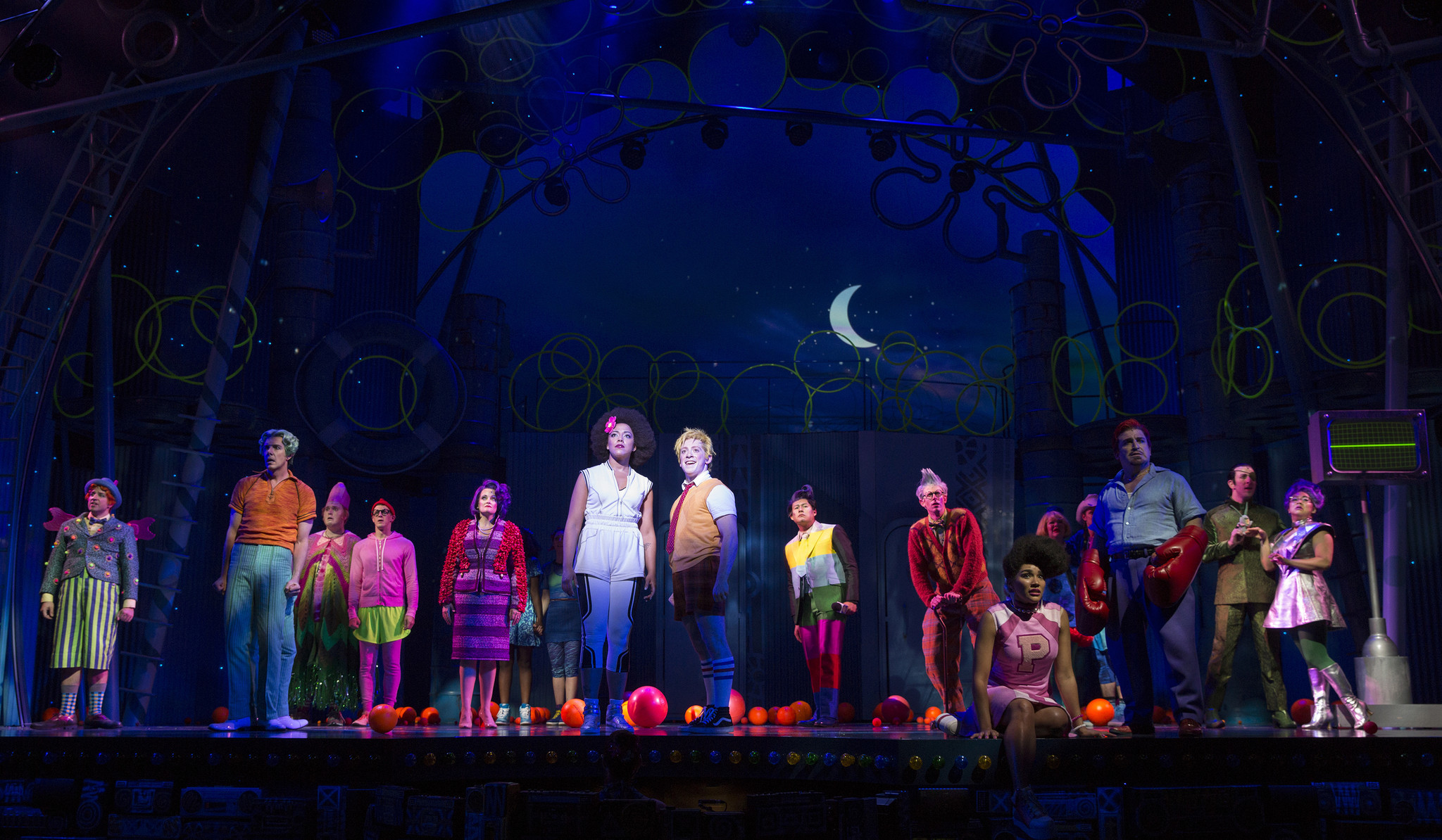 young spongebob saves the day in a big loud way chicago tribune