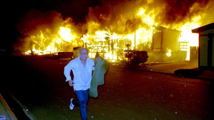 Northridge fire
