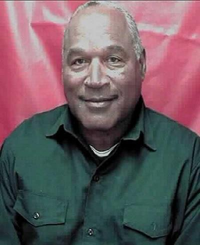 O.J. Simpson in prison this month.