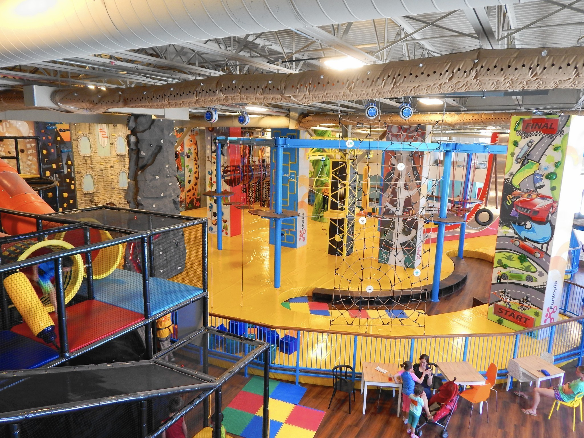 Funtopia A New Indoor Playground Glenview Announcements
