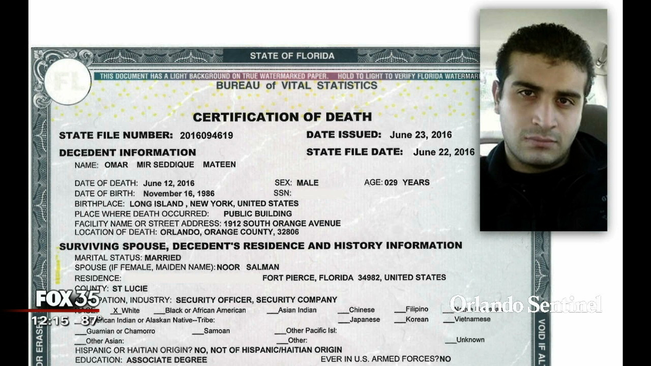 Shooter of pulse nightclub buried in south florida orlando news shooter of pulse nightclub buried in south florida orlando news now orlando sentinel aiddatafo Images
