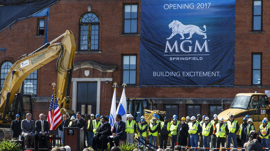 MGM Springfield Ceremonial Groundbreaking