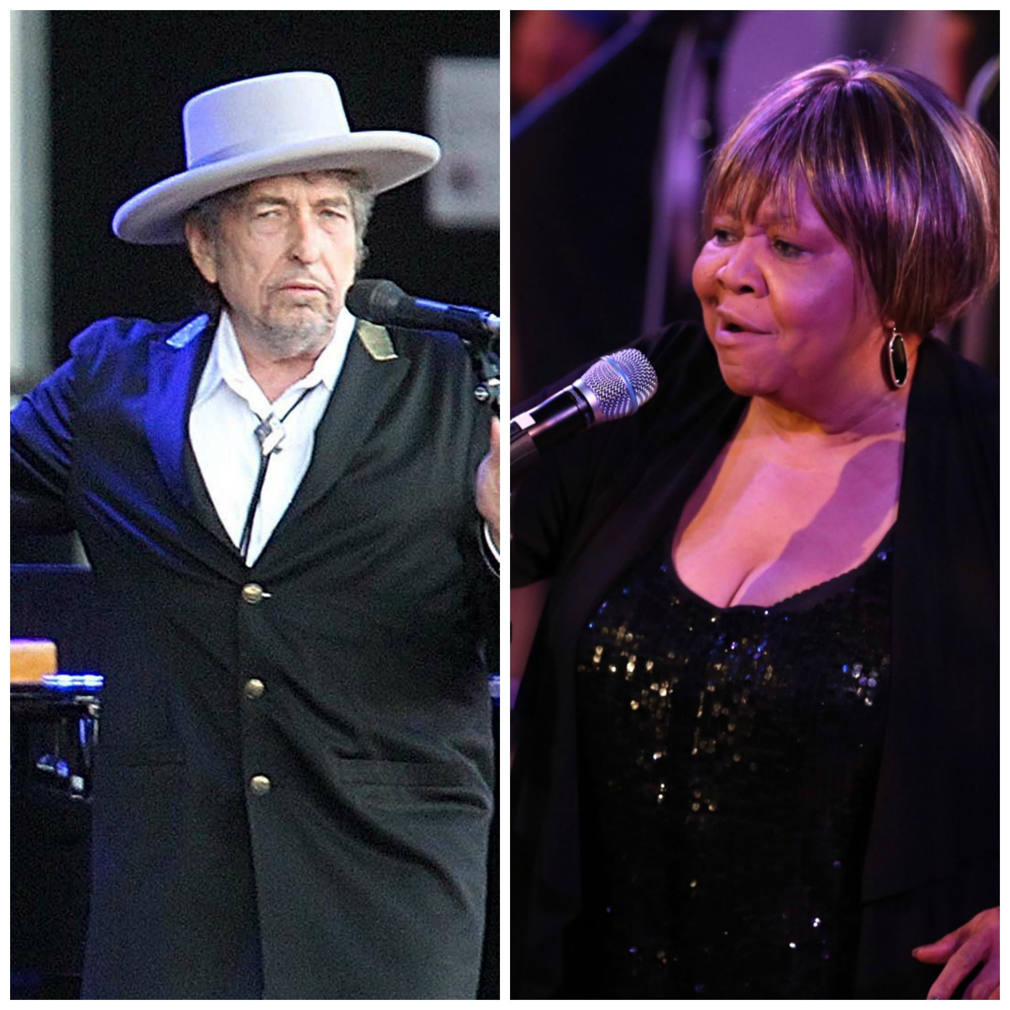 Dylan mellow, Staples feisty at Ravinia - Orlando Sentinel Mavis Staples Bob Dylan