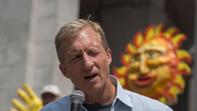Tom Steyer has announced his support for Proposition 67. (AFP/Getty Images)