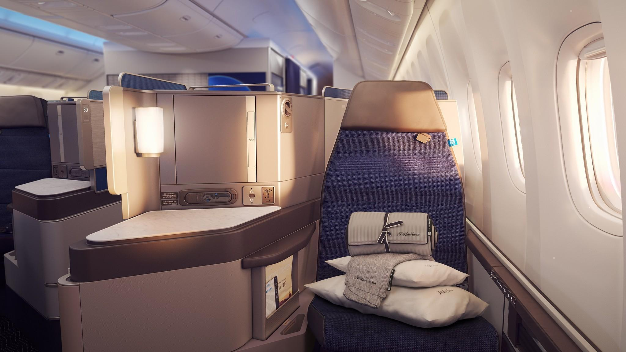 United Airlines hopes slim seats and exclusive lounges will help generate $3 billion - LA Times