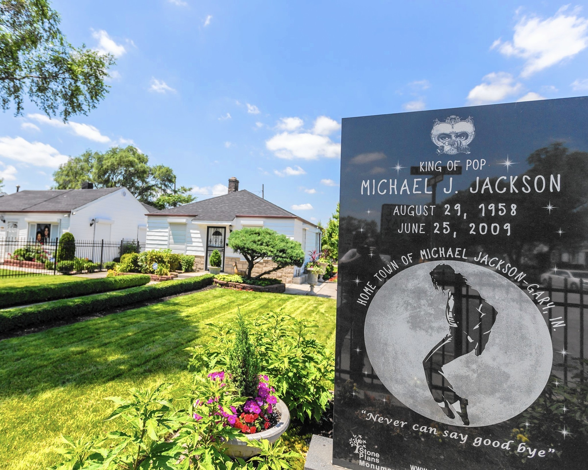 King of Pop lives on for visitors to Gary childhood home on