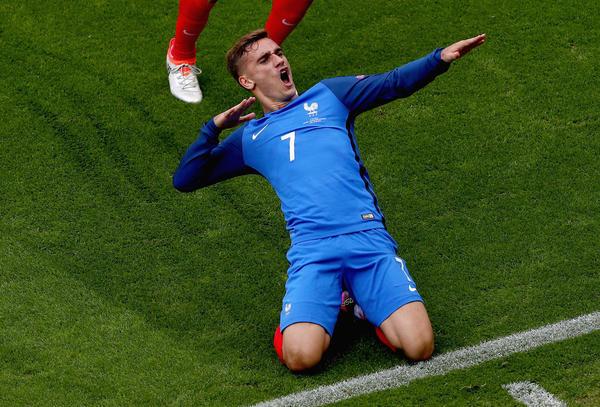 France, Germany, Belgium advance to Euro quarterfinals