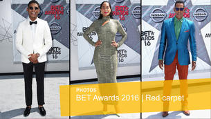 Celebrities and musicians arrive for the BET Awards 2016