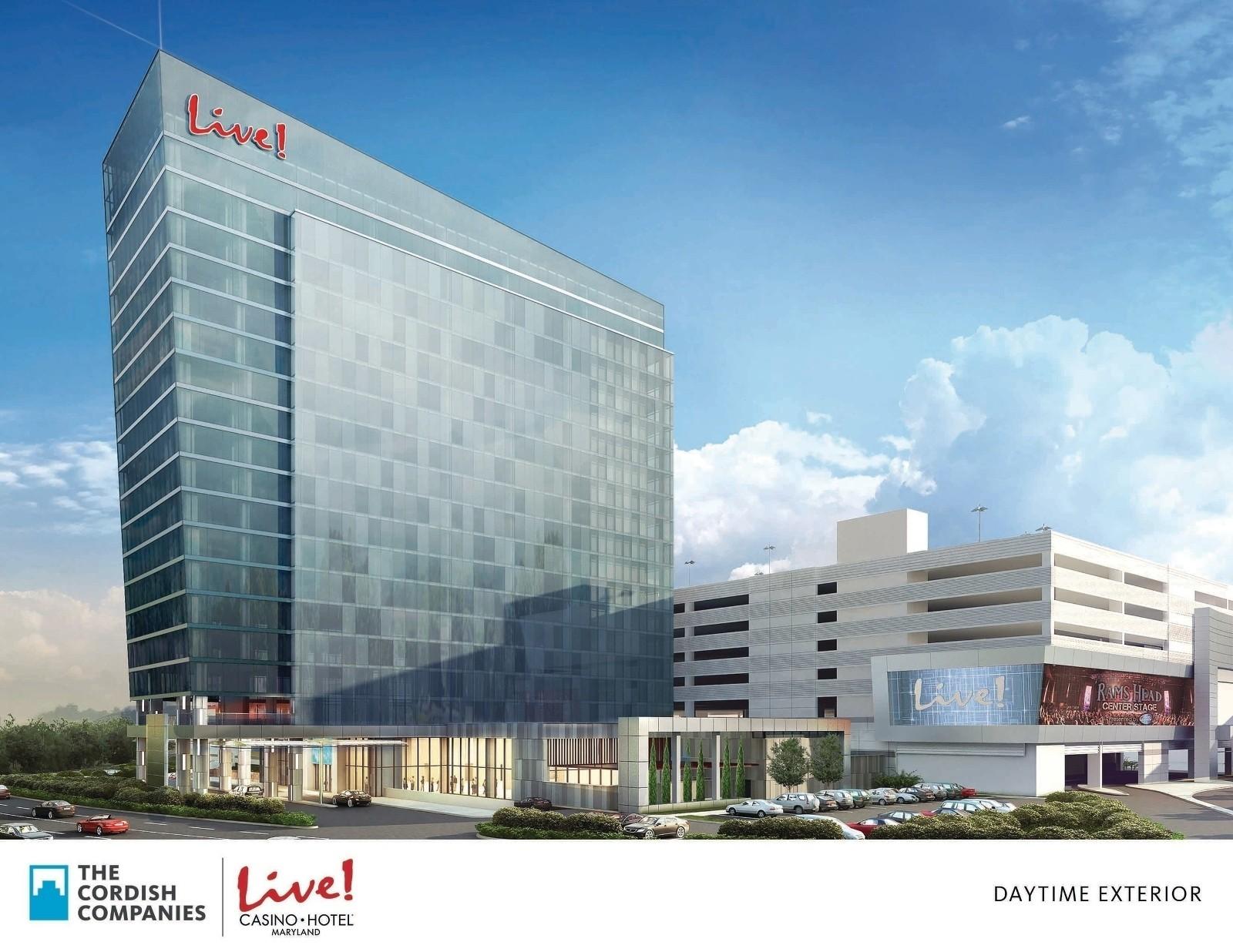 Maryland live casino hotels