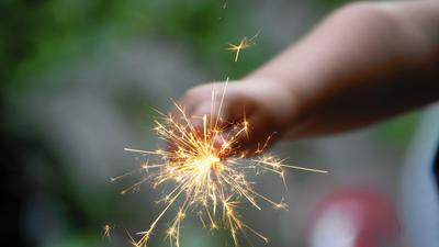 Sparklers: Hotter, more dangerous than they seem, especially for kids