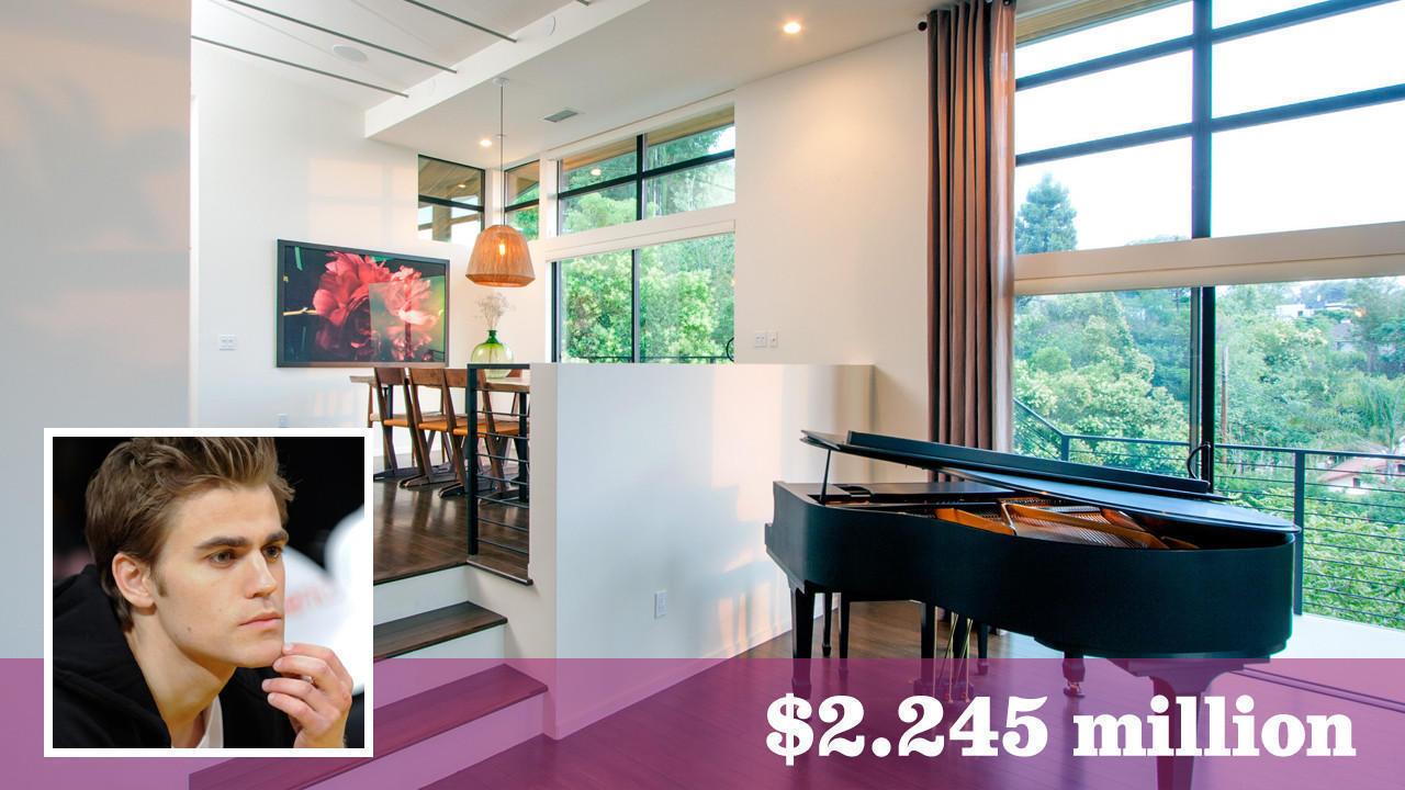 Actor paul wesley is ready to part with his contemporary for Wesley house