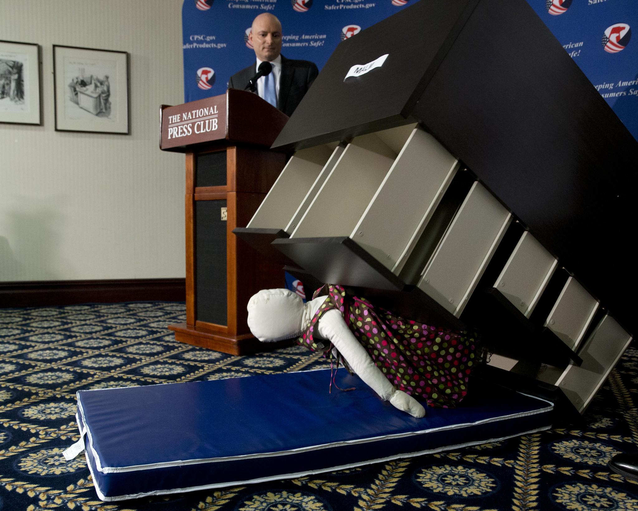 Ikea recalls 29 million dressers after 6 children are killed