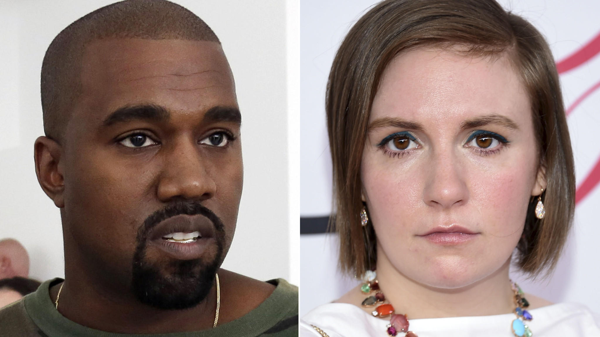 Kanye West's 'Famous' video makes Lena Dunham feel 'sad and unsafe and worried'
